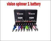 Wholesale Ce5 Various - Ego Vision Spinner Battery 650mah 900mah 1100mah 1300mah for E Cigarette E-cig Kit Various colors for ce4 ce5 ce6 atomizer ego kits