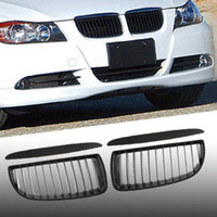 sport saloon - For BMW Series E90 E91 Saloon Touring D Black Sports Kidney Grill Grille M3