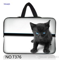 Wholesale Laptop Cases Thinkpad - Lovely Cat Laptop Sleeve Carrying Bag Case For Lenovo ThinkPad T430,Sony Vaio E Series 14