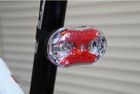 led luzes de cauda preço venda por atacado-Melhor Preço 120 pçs / lote 9 LED Ciclismo Da Bicicleta Da Bicicleta Aviso Vermelho Cauda Frente Luz Traseira Da Lâmpada 9LED Luzes # 544