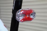 ingrosso ha portato il prezzo delle luci di coda-Miglior Prezzo 120 pz / lotto 9 LED Ciclismo Bici Bicicletta Rosso Attenzione Coda Posteriore Luce posteriore Lampada 9 luci LED # 544