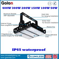 Wholesale Padel Tennis - 200w led light for paddle tennis court IP65 waterproof 5 years warranty DHL Fedex free led padel tennis light 400w 300W 150W 100W 50W option