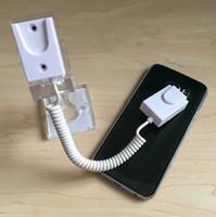 manyetik ekran tutucuları toptan satış-Manyetik Güvenlik Ekran Katılımcı için Temizle Kristal Tutucu Standı Evrensel Mağaza Cep Telefonu Kukla Cep iphone Telefon