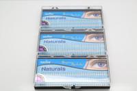 Wholesale Eyelashes 8mm - Wholesale-3 Cases Lot Navina Fake Eyelash extension brand High quality Gorgeous Natural individual lash # 8mm 10mm 12mm