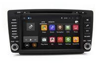 Wholesale Dvd Screen Skoda Octavia - Android 4.4 Head Unit Car DVD Player for Skoda Octavia 2005-2008 with GPS Navigation Radio Bluetooth USB SD AUX WiFi 4Core 1024*600