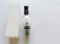 ingrosso evod prezzo elettronico della sigaretta-Prezzo di fabbrica vetro globo atomizzatore vetro pyrex serbatoio cera cera bobina vaporizzatore lampadina vetro globo sigaretta elettronica cartomizer per ego evod