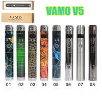 Wholesale Mini Vamo - Vamo V5 Mechanical Mod 18650 18350 Battery Body tube Variable Voltage Mod with OLED screen for Aerotank mega mini protank 3 atomizer