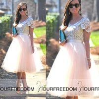 Wholesale Sales Tutu Skirts - Fashion Blush Pink Party Tutu Skirt Mid Caff Boho Wedding Bridesmaid Prom Evening Dresses Women Casual Underskirts Cheap Sale