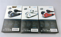 Wholesale Sms Audio Gold - 2015 Mini SMS Audio by 50 Cent 50Cent Street In-Ear headphones earphones with Mic microphone Black White red With Box via free shipping
