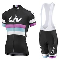 Wholesale D Pads - 2017 Liv Cycling jersey Women Mtb Short Sleeve shirts Bicycle Sport Wear Bike Ropa Ciclismo Cycle Bisiklet clothing 9 D Gel Pad