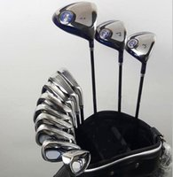 Wholesale Aw Free - XXIO MP900 Full Set Golf Clubs Include DR 9.5d 10.5d+FW#3,#5 + Irons #4-#9,Pw,Aw,Sw With Without putter all clubs with free headcovers
