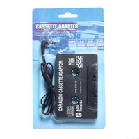 Wholesale Tape Mp3 Iphone - Car Cassette Casette Tape AUX Audio Adapter 3.5mm Jack MP4 MP3 Player CD for iphone for ipod