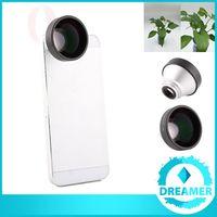 Wholesale Detachable Lens - 10x 5X Optical Teleconverter Detachable Lens Clip Set For Android Samsung S6 S5 S4 NOTE 3 4 5 LG G3 G4 V10 HTC ONE iPhone 6 6s 5s 5 DHL