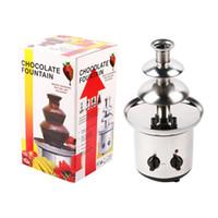 Wholesale Kitchen Home Mixers - 2016 New fashionlate mixer three layer chocolate fountain kitchen new TV Fountain Chocolate
