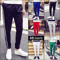 Wholesale Harem Cargo Pants For Men - Outdoors Cargo Trousers Men Sweat Harem Sport Joggers Pants Hip Hop Slim Fit Sweatpants for Sports Pants