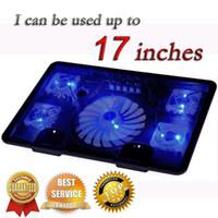 охладитель вентилятора для ноутбука оптовых-Оптовая торговля-профессиональный внешний ноутбук Cooler Pad 14