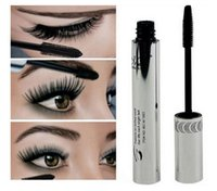 Wholesale mascara colossal for sale - Group buy M n Brand Mascara Makeup Silicone Brush Curving Lengthening Colossal Mascara Waterproof Black DHL