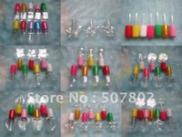 Wholesale Capacity ml factory new design plastic empty clear nail polish bottle