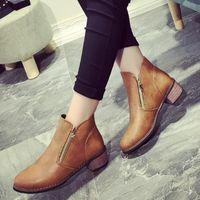 Low Heel Dress Boots For Women Reviews | Chiffon Short Spring ...