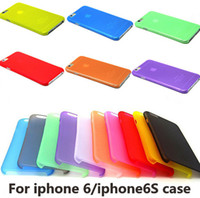 Wholesale Plastic Case Inch - 0.3mm Slim Frosted Transparent Clear Soft PP Cover Case for iPhone 5 5S 5C 4 4S 6 Plus 4.7 5.5 inch Galaxy S6 S5 S4 Note 4 3 Xiaomi M4