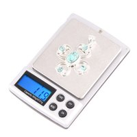 Wholesale Digital Electronic Balance Weight - 300g x 0.01 Mini electronic Scale digital Scales balance weight scale blue backlight H1793
