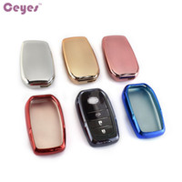 Wholesale Prado Key - Car Key Cover Case For Toyota Highlander Camry Prado Crown Reiz TPU Car Key Fob Holder Cover Shell Car Styling Accessories