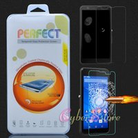 Wholesale Xperia Z1 Screen Protectors - For Sony Xperia Z1 Z2 Z3 Z4 Compact L36h Z 0.26mm 2.5D Tempered Glass Screen Protector Guard for Sony Z3 mini
