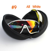 Wholesale mens bicycles - Fashion Sun Glasses With 4 Lens Brand Polarized Jawbreaker Sunglasses For Men Women Sport Cycling Eyewear Bicycle Running Mens Sunglasses