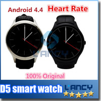 Wholesale Gps Sms Tracker Watch - 2016 Hot Original Bluetooth Smart Watch smartwatch WristWatch NO.1 D5 Best gifts Watch for Replace For Samsung SMS Sync and SIM Card