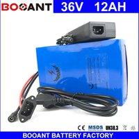 batterie 36v 12ah achat en gros de-Batterie au lithium-ion BOOANT 10S 6P E-Bike Batterie Li-ion Batterie de scooter 36V 12AH pour moteur Bafang 850W avec chargeur 42V 2A