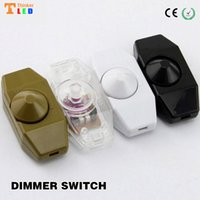 Wholesale Floor Dimmer Switch - Wholesale-Wholesale Dimmer ! Table Desk Lamp Dimmer Switch Adapter Adjust Light Floor Lamp DIY Accessories free shipping