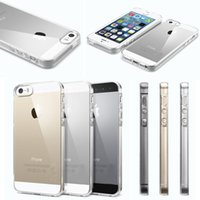 Wholesale Iphone 4s Slim Tpu - Slim Transparent Clear Crystal Soft Silicone TPU Gel Rubber Case Cover Skin For iPhone 6 6S Plus 4 4S 5 5S Galaxy S6 edge S5 Note 4 3 10pcs
