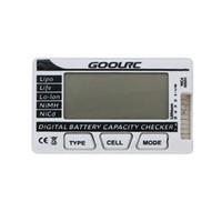 Wholesale Nimh Battery Life - Brand New GoolRC Smart Digital Battery Capacity Checker for LiPo LiFe Li-ion NiMH NiCd Battery order<$18no track