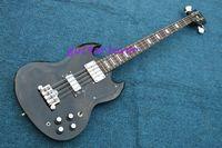 Wholesale G String Usa - New Arrival Best Musical instruments Nostalgia series G-USA SG Black BASS Guitar