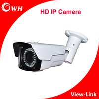 Outdoor outdoor ip camer - CWH W6201C20L IP Camera HD with Bracket and white color and IR leds M IR Distance P H Security CCTV Camer