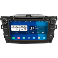 Winca S160 Android 4.4 Système Car DVD GPS Headunit Sat Nav pour Toyota Corolla 2007 - 2012 avec Radio Wifi Player