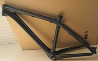 Wholesale Bicycle Frames Cube - Wholesale-Excellent quality! 2015 CUBE carbon bike frame mtb,bike frame mtb color green black size 14' 16' bicycle frame.