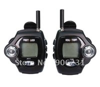 Wholesale Digital Watches Walkie Talkie - Wholesale-Free shipping!! 2pcs a set, with Digital Clock, Free talker Backlight LCD display New watch walkie talkie