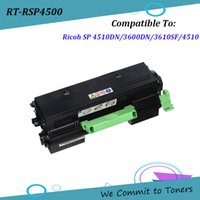 Wholesale Compatible Toner For Ricoh - Ricoh SP4500 , Compatible Toner Cartridge for Ricoh SP 4510DN SP3600DN SP3610SF SP4510 , 407319 407321 407327 ; BK - 3K 7K 12K