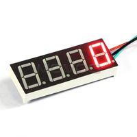 """Wholesale Red Digital Speedometer Gauges - Wholesale-DC 7 ~ 30V Digital Speed Monitor meter 0.56"""" Red LED Tacho Gauge DC 12V 24V Digital Speedometer Tachograph Tachometer"""