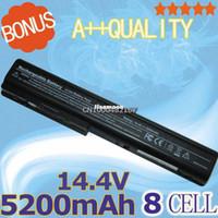 Wholesale Battery For Hp Pavilion Dv7 - NEW- 8 cells Laptop Battery For HP Pavilion HDX X18-1100 HDX18 HDX-1000 dv7 dv7-1000 dv7-1100 dv7-2100 dv7-2200 dv7-3000 dv7-3100