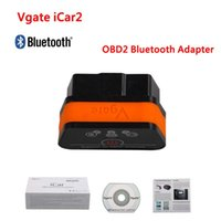 Wholesale Auto Diagnostic Scan - Vgate iCar2 ELM 327 V2.1 OBD2 Bluetooth Adapter Auto OBD Scanner Car Code Reader Diagnostic Scan Tool Universal ODB ODB2 OBDII