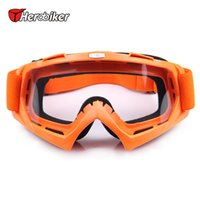 Dirt gros-HEROBIKER Ski Snowboard Lunettes Protection UV Mototourisme Goggles Motocross Off-Road Bike Downhill Racing Eyewear
