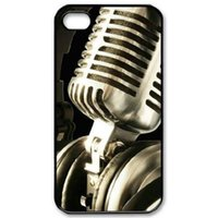 Musique Microphone Life La conception de la mode de Quotecustomized pour le cas de l'iphone 6 4.7