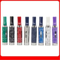 Wholesale Ego Heating Coil - 2015 Newest Snoop Dogg Glass Tank Atomizer In 8 Colors Heating Chamber Coils Dry Herbal Clearomizer for Snoop Dogg Vaporizer eGo Style Ecigs