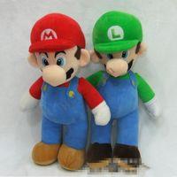 Wholesale Mario Plush Dolls Big - New Super Mario Plush Toys Super Mario Stuffed toys NEW SUPER MARIO BROTHERS PLUSH MARIO AND LUIGI DOLLS mario and luigi dolls D175 10pcs