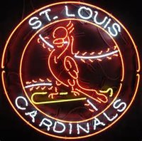 Chain Pendant st craft - New St Louis Cardinals Real Glass Neon Sign Light Beer Bar Pub Arts Crafts Gifts Lighting quot