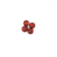 100pcs / lot 12mm Round Natural Coral Loose Spacer Beads Red Color para Jóias DH-BTA037