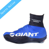 Wholesale Cycling Giant Winter - 2016 High Quality Winter team Giant waterproof Cycling Shoe Covers Bicycle MTB Bike Shoe Covers Cycling Zippered Overshoes