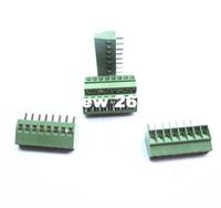 tornillos de conector al por mayor-100 unids 8 Postes / 8 Pines 2.54mm / 0.1